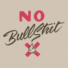 No bullshit by andreas carlson, earth people