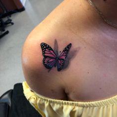 Buterfly tattoo Mariposa – My CMS Tattoos 3d, Red Ink Tattoos, Et Tattoo, Dope Tattoos, Badass Tattoos, Pretty Tattoos, Piercing Tattoo, Beautiful Tattoos, Body Art Tattoos