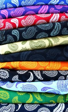 The Hundreds Paisley Shirts
