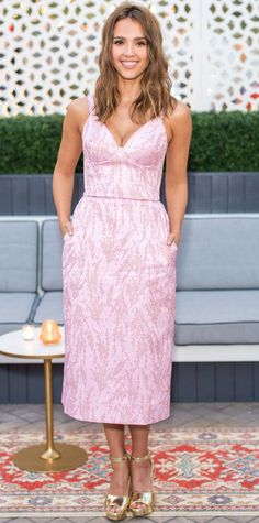 Look of the Day - Jessica Alba - from InStyle.com