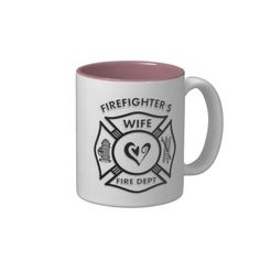 Firefighters Wife Mug
