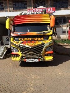 Matatus, the minibus taxis used by so many Kenyans to navigate the capital Nairobi, often Nairobi, Taxi, Kenya, Africa, Trucks, Truck, Afro, Cars
