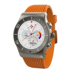MyKronoz ZeSport Smartwatch, Orange