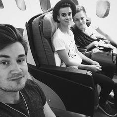 Joe,Caspar and Oli.