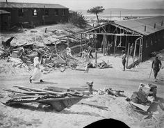 During World War I, the aftermath of one of several air raids targeting base hospitals at Etaples on the French coast between May and August 1918 (supposedly in retaliation for a British air raid on Cologne): World War One, First World, Canadian Army, Battle Cry, Air Raid, General Hospital, Wwi, Sisters, Coast