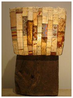 Création de l\'atelier Bertrand : lampe de bois flotté de la ...