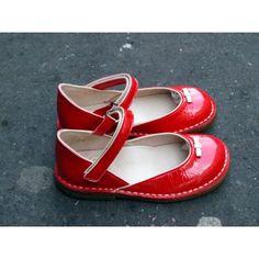 Chic shoes - Babies à brides vernies Hibiscus [Pèpè]