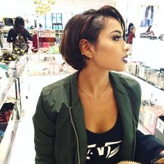 cool Short Hairstyles for Black Women...
