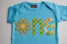Lemon, lime, and tangerine first birthday shirt
