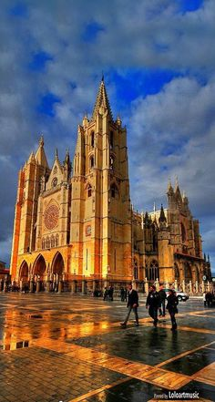 Cathedral of León , Spain