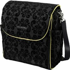 Petunia Pickle Bottom Boxy Backpack Diaper Bag (Black Currant) - It's spendy, but I LOVE it!!