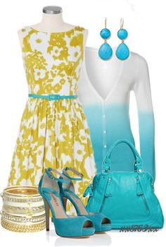 """""""T Floral Sundress"""" by xx8763xx ❤ liked on Polyvore"""