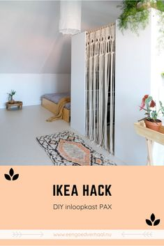 Most current Totally Free DIY: Making IKEA PAX walk-in closets - Easy & low-budget! Concepts An Ikea kids' room continues to amaze the little ones, since they are offered a lot more than sim Walk In Closet Ikea, Ikea Closet Hack, Closet Hacks, Cozy Home Decorating, Decorating Small Spaces, Decorating Tips, Hack Ikea, Ikea Ikea, Dressing Ikea