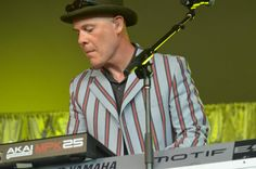 Thomas Dolby, Voodoo Fest, New Orleans, 2012