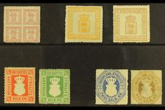 Mecklenberg - Schwerin Stamps