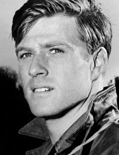 young Robert Redford. Can't think of a more classic American face of the sixties.