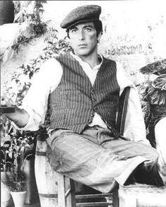 Michael Corleone (a very handsome Al Pacino)