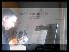 SUONARE  ARMONIA: Pino Daniele - NOTTE CHE SE NE VA'