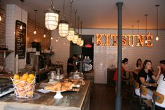 This place is awesome! Café – Kitsuné Espresso Bar, Montreal
