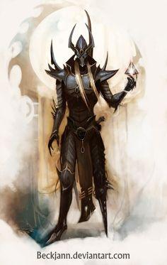 Dark Eldar: Archon 2 by Beckjann.deviantart.com on @deviantART