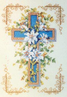 Lilies on the Cross - 1/3 Solo Patrones Punto Cruz (pág. 13) | Aprender manualidades es facilisimo.com