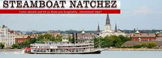Free coupons for Steamboat Natchez in New Orleans. Save with Free Discount Travel Coupons from DestinationCoupons.com!