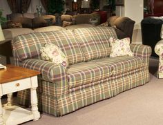 Brides Helping Brides ™   Anyone Have Plaid Couches? Edited With A Picture  Of The
