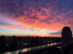 Top Performers are spoiled with a rooftop dinner on a gorgeous night.