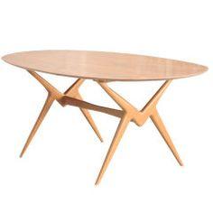 Renzo Rutili for Johnson Furniture Table or Writing Desk