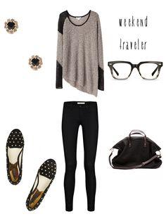 weekend traveling clothing ideas | ashinine