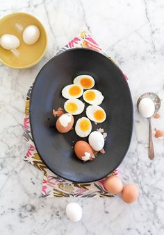 The surplus of colorful and hard-boiled eggs left after Easter weekend can feel like a blessing or a curse depending on your particular outlook on eggs and how long they've been lingering in your fridge! Here's a list of everything we can think of doing with leftover hard-boiled eggs, including all the classics.