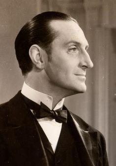 Basil Rathbone..my all time favourite Sherlock Holmes