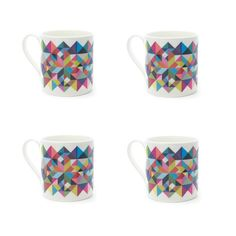 """""""tutti frutti"""" mugs for Howkapow by Matt Keers (where can I find these when I'm in London???)"""