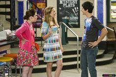 Jennifer Stone as Harper on Wizards of Waverly Place - Juliet wearing Harper's marker dress
