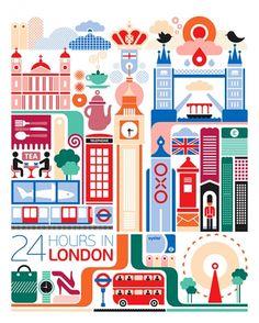 24 hours in london.