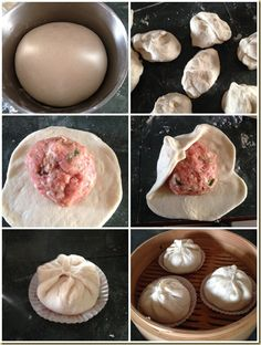 Another Extra Large Chinese Steamed Buns– Dabao or Pork Bun (大包/生肉包) - Guai Shu Shu Steamed Meat, Steamed Pork Buns, Chinese Bun, Best Chinese Food, Steam Buns Recipe, Bun Recipe, Chinese Cooking Wine, Asian Cooking, Baozi Recipe