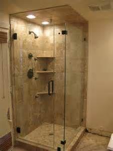 Small Bathrooms With Corner Shower upstairs bathroom: corner shower … | pinteres…