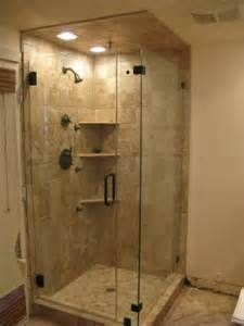 Frameless Glass Shower Stalls For a Small Bathroom - - Yahoo Image Search Results