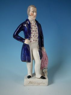 Staffordshire Titled Duke of Wellington figure