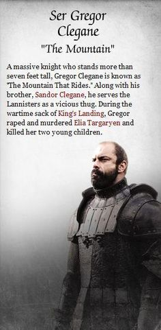 Gregor Clegane - game-of-thrones Photo