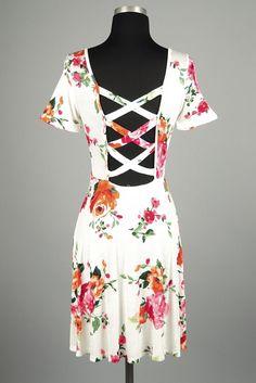 Floral Swing Dress (2 Colors)