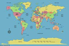 Blank world map hd wallpapers download free blank world map tumblr a standard world map with countries size eflecting total land mass gumiabroncs Gallery