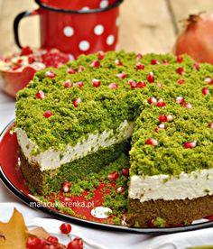 "Ciasto ""leśny mech"" ze szpinakiem Different Cakes, Polish Recipes, Polish Food, Food Crafts, Piece Of Cakes, No Bake Desserts, Yummy Cakes, Finger Foods, Avocado Toast"