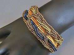 Geflochtene Farben Armband von Ravit auf Etsy