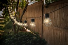 Solar-Powered Retro-Style String Light Bulbs - 382682 For Sale, Buy from Outdoor String Lights collection at MyDeal for best discounts. Edison Led, Edison Lighting, Patio Lighting, Lighting Store, Lighting Design, Diy Solar, Solar Light Crafts, Solar Led, Patio String Lights