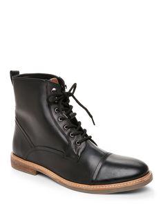 Ben Sherman Black Leon Boots