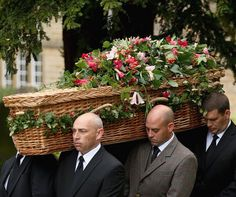 Debo, the Duchess of Devonshire, was laid to rest in a wicker casket. Mourned by royalty, nobility, cooks, cleaners, the Bakewell Women's Institute, the 1st Tupton Scout Group, poultry fanciers, dry stone wallers and a hillside of ramblers, Britain's best-known dowager embarked on her last and grandest journey yesterday, to the sound of Elvis Presley. Debo, who died aged 94, was laid to rest at the the Derbyshire estate which stands as a monument to her determination.