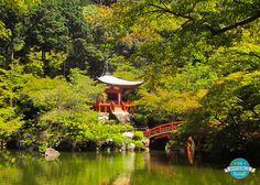 Beautiful gardens of Daigo-ji, Kyoto
