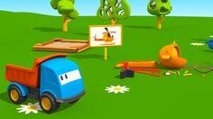 Leo e l'elicottero - Cartoni animati per bambini