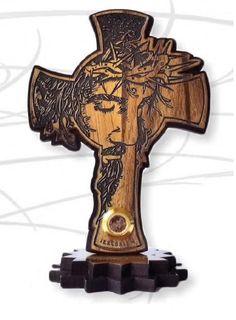 Jesus Artwork, Jesus Face, Wood Crosses, Jesus On The Cross, Bethlehem, Holy Land, Wood Working, Laser Engraving, Holi
